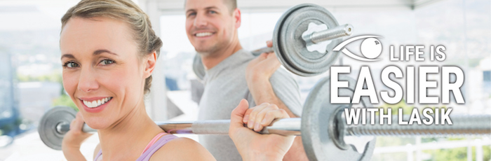 Enjoy working out more after LASIK