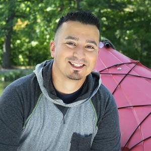 An active outdoorsman giving a testimonial about his LASIK surgery