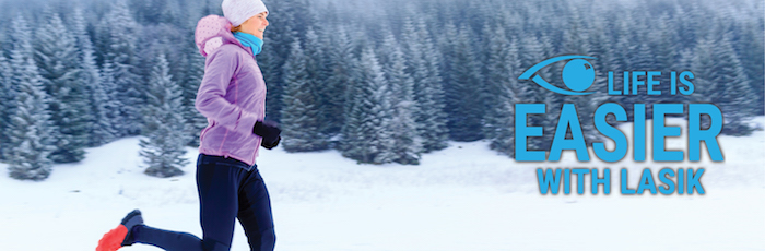 Winter activities are easier with LASIK