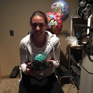 Emily won free LASIK!